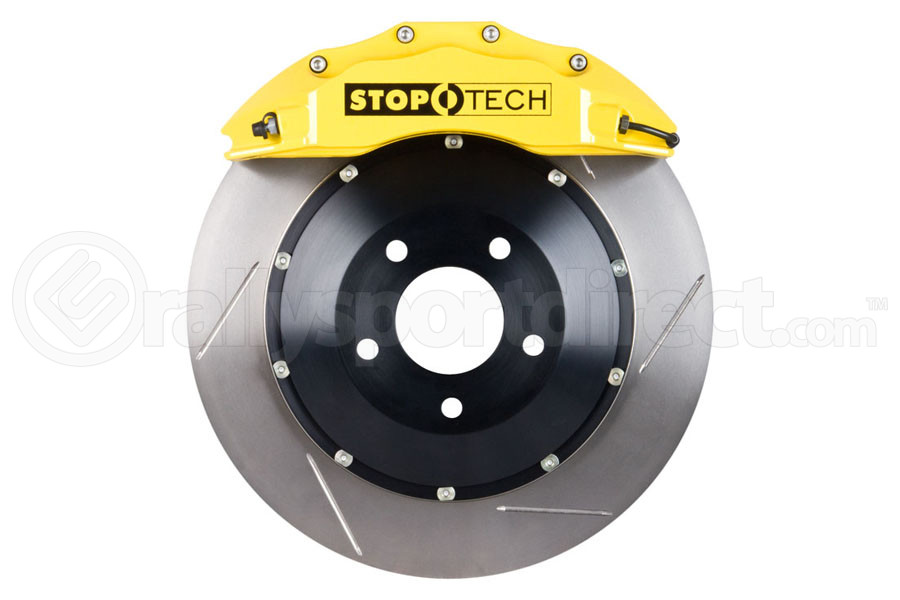 Stoptech ST-60 Big Brake Kit Front 355mm Yellow Slotted Rotors (Part Number:83.838.6700.81)