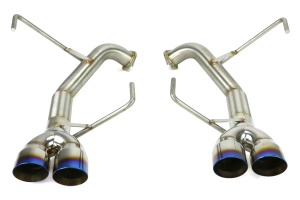 Nameless Performance 3in Tips Axleback Double Wall Neochrome/Titanium Tips (Part Number: RSPD040)