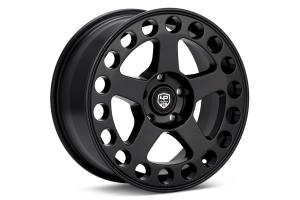 LP Aventure LP5 Wheel 17X8 +20 5x114.3 Matte Black - Universal