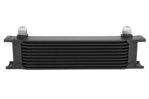 Mishimoto Universal 10 Row Oil Cooler Black (Part Number: )