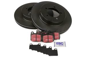 EBC Brakes S1 Rear Brake Kit Ultimax2 Pads and RK Rotors - Mitsubishi Evo 2003-2006