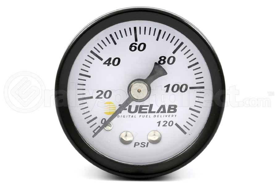 Fuelab EFI Fuel Pressure Regulator Gauge (Part Number:71501)
