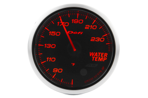 Defi Advance BF Amber Water Temperature Imperial 60mm Gauge ( Part Number:DEF2 DF10504)