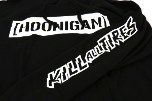HOONIGAN Kill All Tires Hoodie Black - Universal