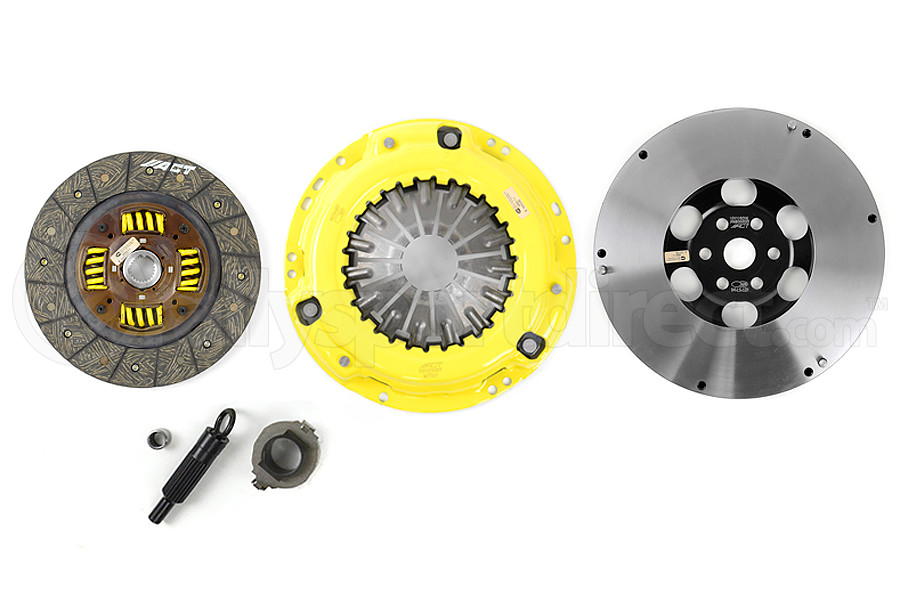 ACT Heavy Duty Performance Street Disc Clutch Kit ProLite Flywheel Included (Part Number:ZX4-HDSS)