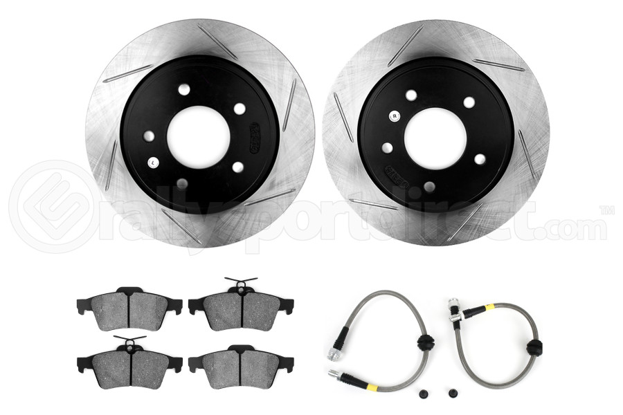 Stoptech Sport Kit Slotted Rear (Part Number:977.45001R)
