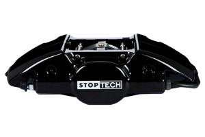 Stoptech ST-22 Big Brake Kit Rear 328mm Black Zinc Slotted Rotors (Part Number: )