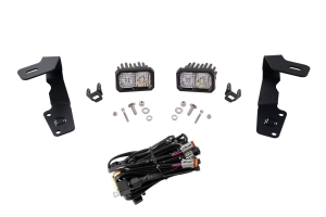 Diode Dynamics Stage Series 2 Inch Ditch Light Kit Sport White Combo - Subaru WRX / STI 2015 - 2020