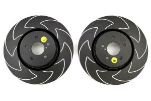 EBC Brakes BSD Series Sport V-Slotted Front Brake Rotors - Subaru Models (inc. 2005-2014 Legacy / 2014+ Forester XT)
