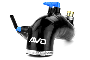 AVO Silicone Turbo Inlet Black ( Part Number:AVO S2F08G41ABLKJ)