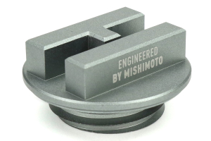 Mishimoto Hoonigan Oil Filler Cap Silver (Part Number: )