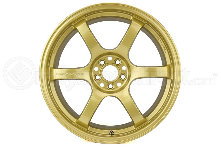 Gram Lights 57DR 18x9.5 +38 5x100 E8 Gold - Universal