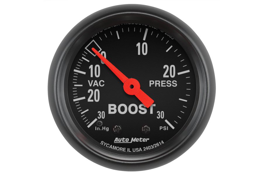 Autometer Z-Series Boost Gauge Mechanical 52mm - Universal
