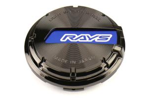 Gram Lights GL Center Cap Blue / Black Chrome 57DR / 57CR - Universal