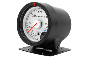 Defi Advanced CR White Faced Boost Gauge Metric 52mm 2 Bar ( Part Number:DEF2 DF07801)