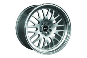 XXR 531 5x114.3 / 5x100 Hyper Silver w/ Machined Lip - Universal