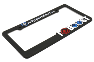 RallySport Direct I Love Boost License Plate Frame (Part Number: )