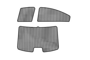 3D MAXpider Soltec Sunshade Side & Rear Windows - Subaru Legacy 2015-2018
