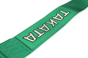 Takata Drift III 4-Point Harness Green Bolt-On - Universal