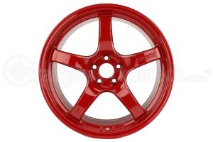 Gram Lights 57CR 18x9.5 +36 5x100 Milano Red - Universal