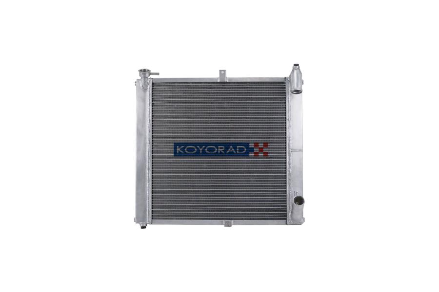 Koyo Aluminum Racing Radiator Manual Transmission N-FLO - Mazda RX-7 1989-1992