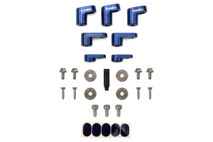 Boomba Racing Wing Riser Kit Blue - Ford Focus ST 2013+
