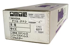 Invidia R400 Gemini Cat-Back Exhaust w/ Stainless Steel Tips - Subaru STI Hatchback 2008-2014 / WRX Hatchback 2011-2014