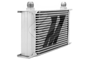 Mishimoto Oil Cooler Kit Silver Thermostatic (Part Number: )