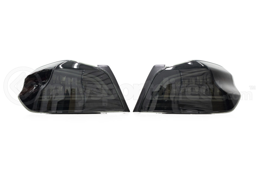 OLM Spec CR Sequential Tail Lights Smoked Lens / Black Base