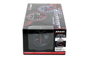 Defi Advance CR Oil Pressure Metric 52mm Gauge ( Part Number:DEF2 DF08102)