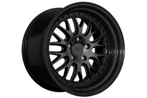 XXR 570 5x100 Flat Black w/ Gloss Black Lip - Universal