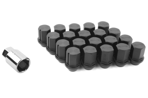 Volk Racing Rays 35MM 12X1.25 Lug Nuts Black ( Part Number:VOL W3512125B)