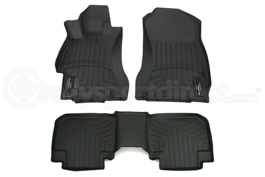 Weathertech Front and Rear Floorliners Black (Part Number:44531-1-2)