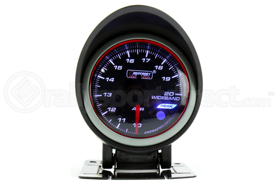 ProSport Wideband Air Fuel Ratio Guage w/O2 Sensor Blue/White/Amber 52mm (Part Number:216HLAFR270-PKWB4.9-WO)