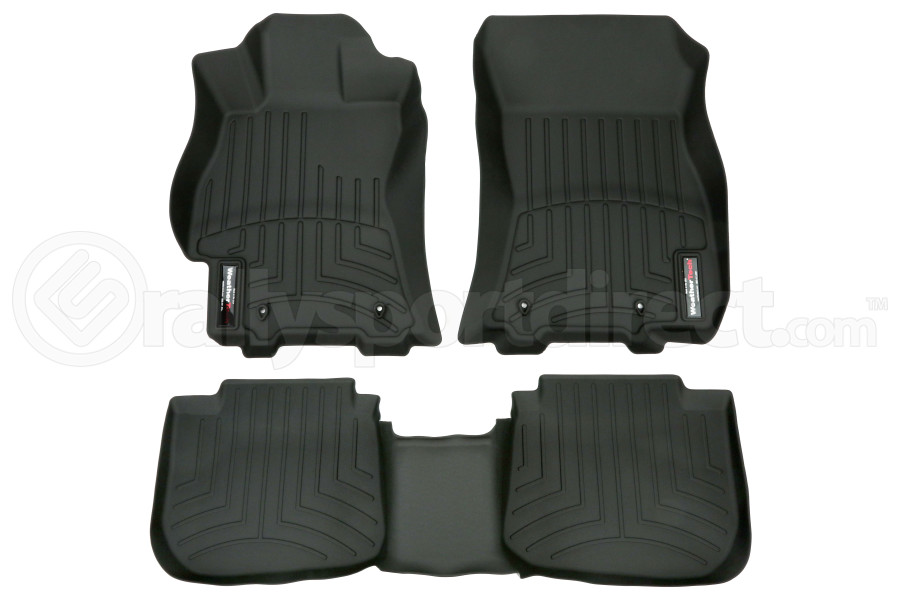 Weathertech Black Front and Rear Floorliners (Part Number:44708-1-2)