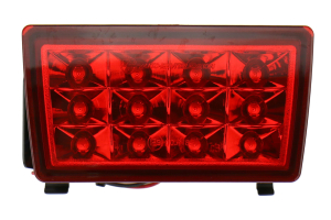 SubiSpeed USDM F1 Style Rear Fog Light Red (Part Number: SS15WRXF1-RC)