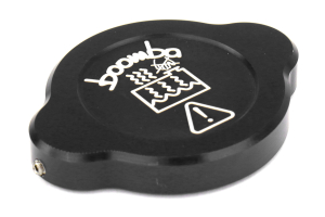 Boomba Racing Dress Up Caps Black - Subaru WRX 2015+