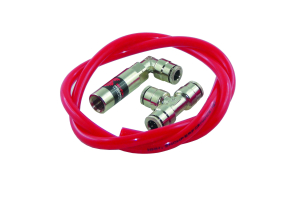 Snow Performance Water-Methanol Dual Nozzle Upgrade Quick-Connect Fittings - Universal