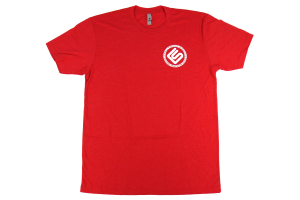 RallySport Direct Left Chest Circle T-Shirt Red - Universal