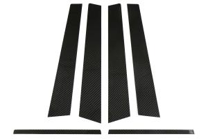 OLM S-line Carbon Fiber Door Trim - Subaru WRX / STI 2015+