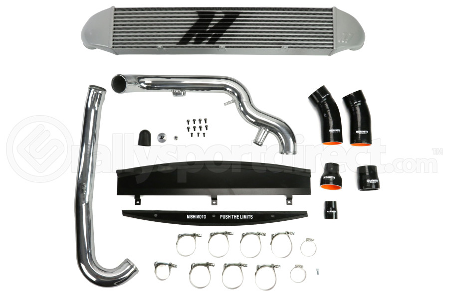 Mishimoto Performance Intercooler Kit Silver Piping/Silver Core (Part Number:MMINT-FIST-14KPSL)