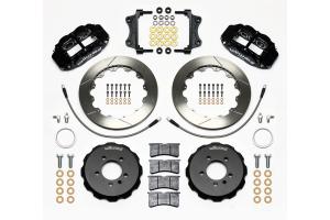 Wilwood FNSL4R 12.88in Rear Kit Black - Volkswagen GTI 2006-2012