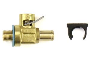 Fumoto M12-1.25 Oil Drain Valve W/Nipple and Lever Clip - Universal
