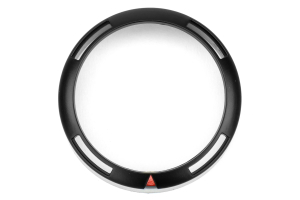 ProSport Premium Series Black Bezel Cover w/ Warning Ring 52mm (Part Number: SMR-52)