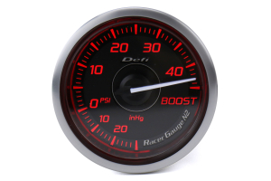 Defi DF Red Racer N2 Boost Gauge Imperial 52mm 45PSI - Universal