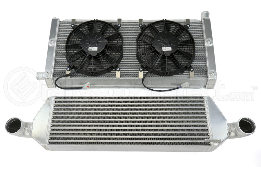 Process West V-Mount Cooling System 1997-2000 WRX/STi - Subaru WRX/STI 1997-2000