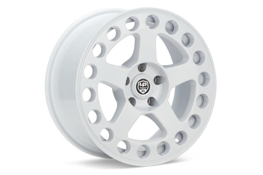 LP Aventure LP5 Wheel 15x7 +15 5x100 White - Universal