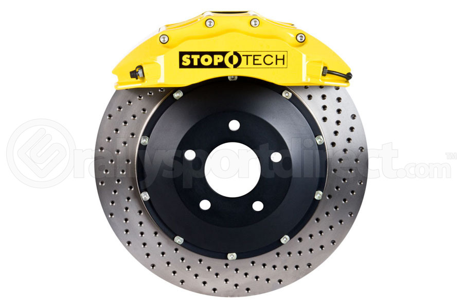 Stoptech ST-60 Big Brake Kit Front 355mm Yellow Drilled Rotors (Part Number:83.622.6700.82)