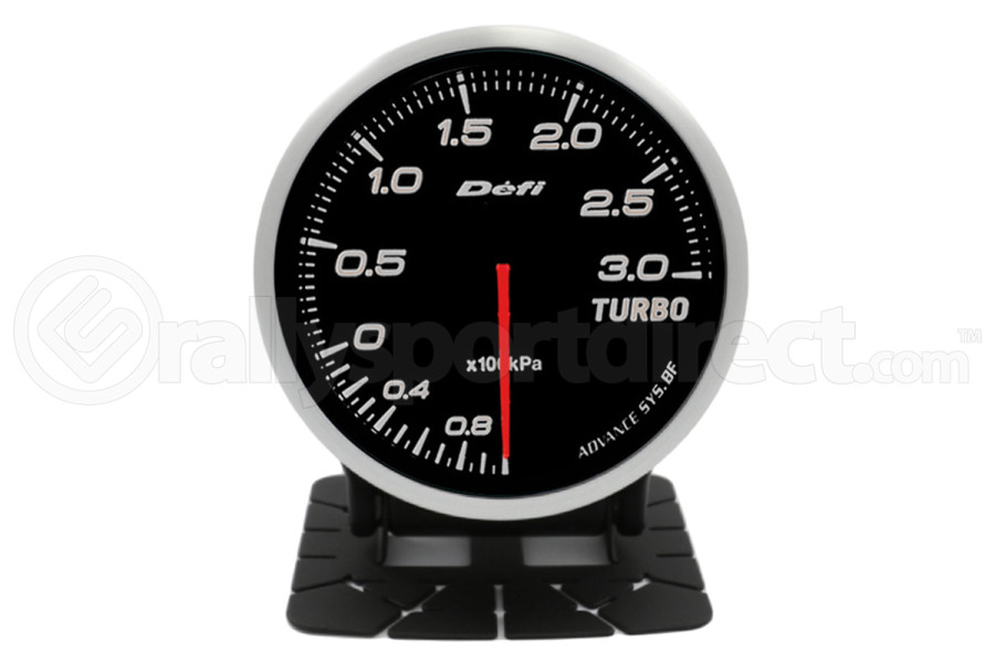 Defi Advance BF Series Boost Gauge White 3 Bar (Part Number:DF14701)