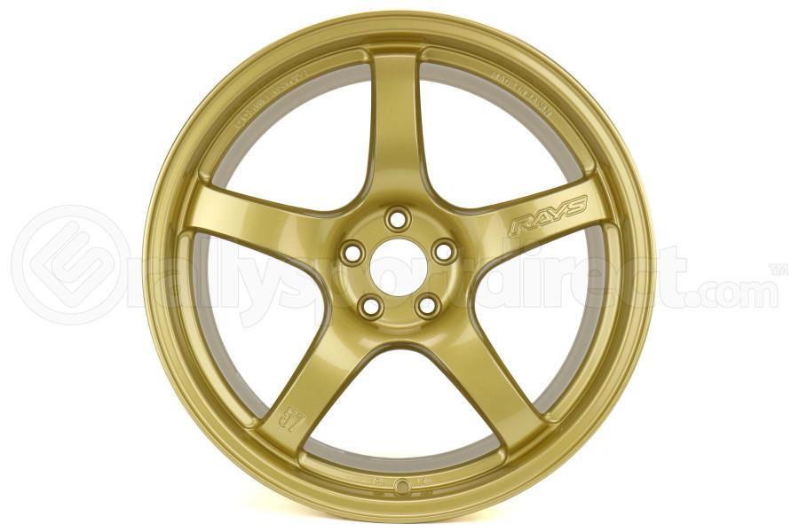 Gram Lights 57CR 17x9 +38 5x100 E8 Gold - Universal